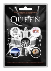 Button Pack - Queen Freddie