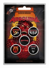 Button Pack - Airbourne Breakin Outta Hell