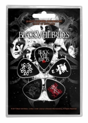 Plektrum Pack Black Veil Brides Skull