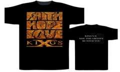 Kings X Faith, Hope, Love T-Shirt