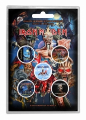 Button Pack - Iron Maiden Later Albums