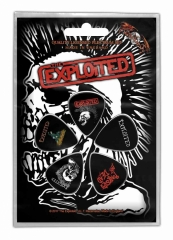 Plektrum Pack The Exploited Skull
