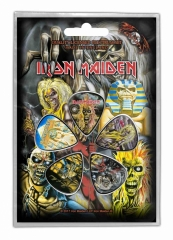 Plektrum Pack Iron Maiden Early Albums