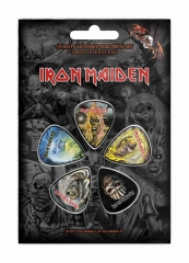 Plektrum Pack Iron Maiden The Faces Of Eddie