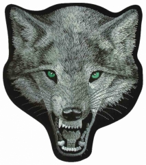 Embroidered Patch - Wolf