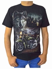 T-Shirt Nachtwolf (Glow in the Dark)