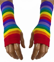 Handstulpen Regenbogen