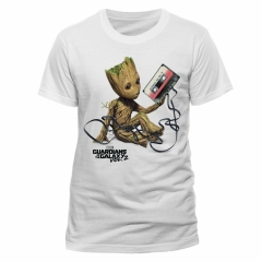 Marvel Guardians of the Galaxy Vol.2 Groot & Tape T-Shirt
