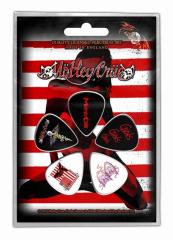 Plektrum Pack Mötley Crüe Red White & Crüe