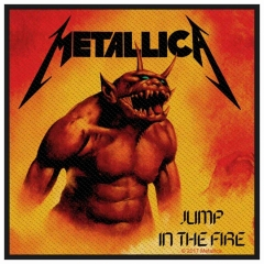 Aufnäher Metallica Jump In The Fire