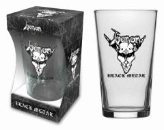 Trinkglas Venom Black Metal