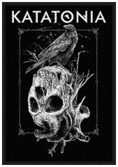 Aufnäher Katatonia Crow Skull