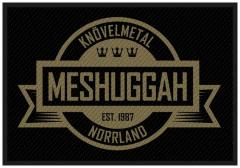 Aufnäher Meshuggah Crest