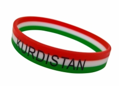 Silikon Armband Kurdistan