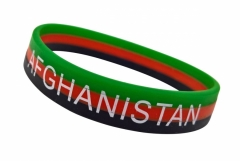 Silikon Armband Afghanistan
