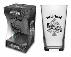 Trinkglas Motörhead Ace of Spades