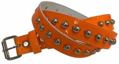 Gürtel Rundnieten Neon Orange