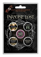 Button Pack Paradise Lost Crown Of Thorns