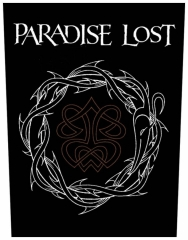 Paradise Lost Crown Of Thorns Rückenaufnäher Patch