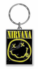 Nirvana Smiley Schlüsselanhänger