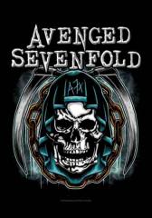 Posterfahne Avenged Sevenfold Holy Reaper