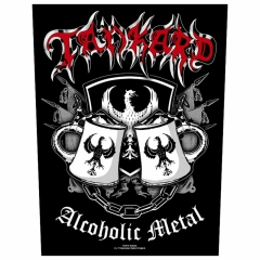 Tankard Backpatch Alcoholic Metal