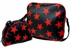 BAGPACK - rote Sterne