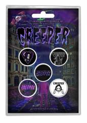 Button Set - Creeper Eternity
