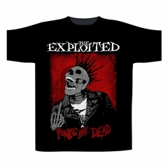 The Exploited Splatter / Punks Not Dead T-Shirt