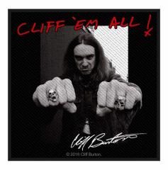 Cliff Burton Aufnäher Cliff em all