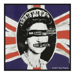 Sex Pistols Aufnäher God save the Queen