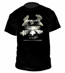 Metallica Master of Puppets Distressed Fan T-Shirt