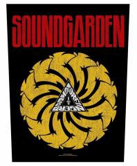 Soundgarden Rückenaufnäher Badmotorfinger