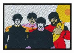 The Beatles Faces Patch