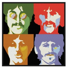 The Beatles Aufnäher Sea of Science