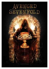 Posterfahne Avenged Sevenfold Golden Arch Tapestry