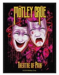 Mötley Crüe Aufnäher 'Theatre of pain'