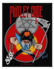 Mötley Crüe Aufnäher 'Allister Fiend'