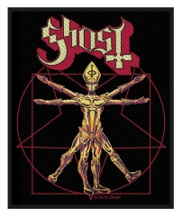 Aufnäher Ghost - The Vitruvian Ghost