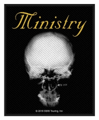 Aufnäher Ministry - The Mind is a terrible thing to taste