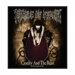 Cradle of Filth Aufnäher Cruelty and the beast