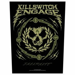 Killswitch Engage Rückenaufnäher 'Skull Wreath'