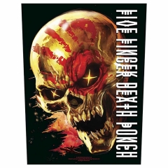 Five Finger Death Punch Backpatch ' And justice for none'