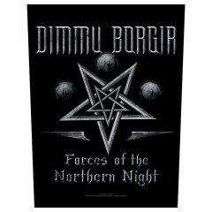 Dimmu Borgir Rückenaufnäher 'Forces of the northern night'