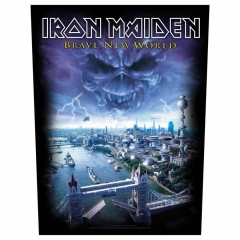 Iron Maiden Backpatch 'Brave new world'