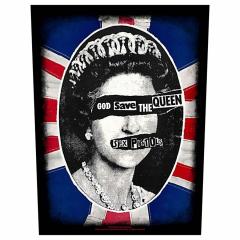 Sex Pistols Rückenaufnäher 'God save the queen'