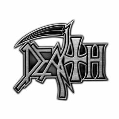 Death Logo Anstecker