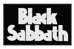 Black Sabbath Logo Aufnäher