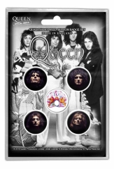 Button Pack - Queen - Faces