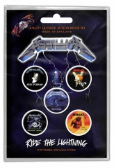 Button Pack - Metallica - Ride the Lightining